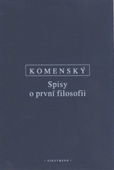 Obálka titulu Spisy o první filosofii