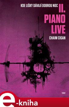 Obálka titulu Piano live