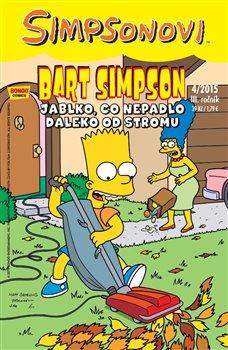 Obálka titulu Bart Simpson 4/2015: Jablko, co nepadlo daleko od stromu