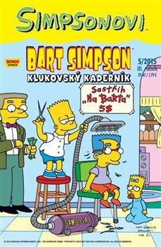 Obálka titulu Bart Simpson 5/2015: Klukovský kadeřník