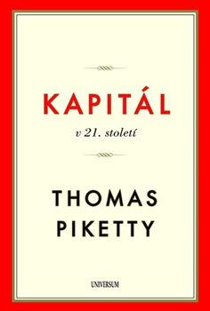 Obálka titulu Kapitál v 21. století