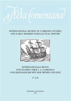Obálka titulu Acta Comeniana 27