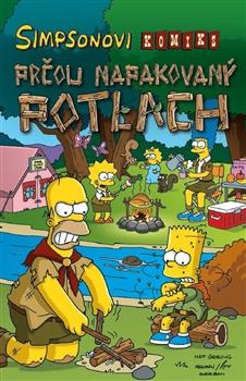 Obálka titulu Simpsonovi: Prčou napakovaný potlach