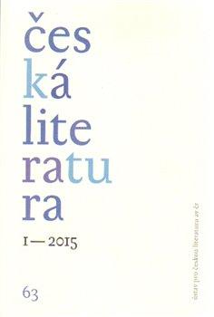 Obálka titulu Česká literatura 1/2015
