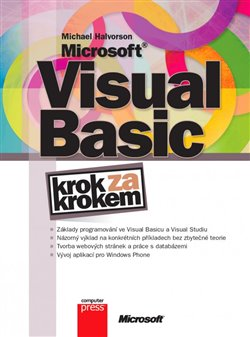 Obálka titulu Microsoft Visual Basic Krok za krokem