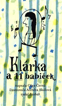 Obálka titulu Klárka a 11 babiček