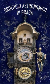 Obálka titulu Pražský orloj / Orologio Astronomico Di Praga