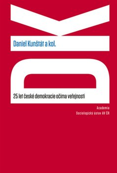 Obálka titulu 25 let české demokracie očima veřejnosti