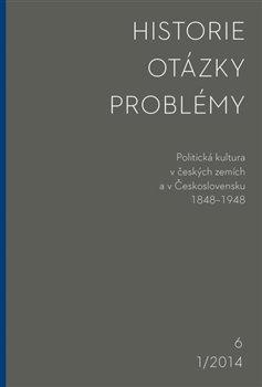 Obálka titulu Historie - Otázky - Problémy 1/2014