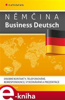 Obálka titulu Němčina Business Deutsch