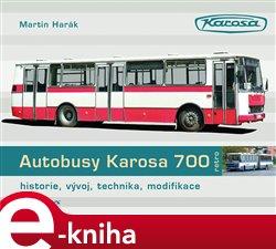 Obálka titulu Autobusy Karosa 700