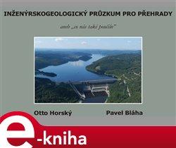 Obálka titulu Inženýrskogeologický průzkum pro přehrady