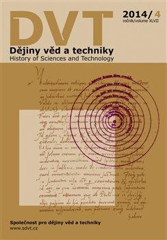 Obálka titulu Dějiny věd a techniky 4/2014