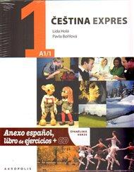 Čeština expres 1 (A1/1) - španělsky + CD