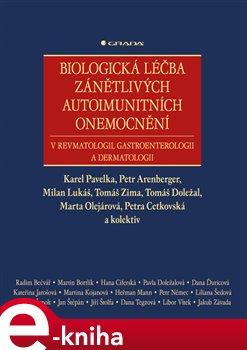 Obálka titulu Biologická léčba zánětlivých autoimunitních onemocnění