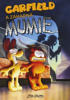 Obálka titulu Garfield a záhadná mumie