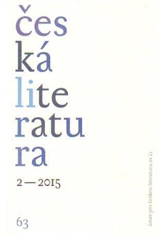 Česká literatura 2/2015 - - | Booksquad.ink