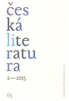 Obálka titulu Česká literatura 2/2015