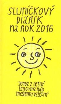 Obálka titulu Sluníčkový diářík na rok 2016