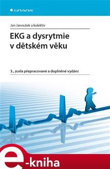 Obálka titulu EKG a dysrytmie v dětském věku