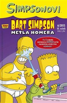 Obálka titulu Bart Simpson 6/2015: Metla Homera