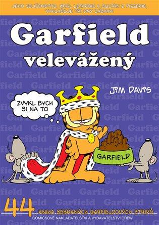Garfield 44: Garfield velevážený - Jim Davis | Booksquad.ink