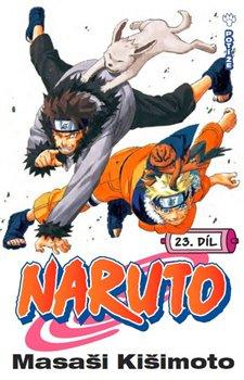 Obálka titulu Naruto 23: Potíže