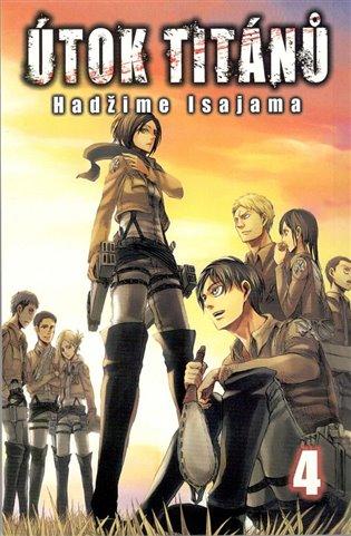 Útok titánů 4 - Hadžime Isajama   Booksquad.ink