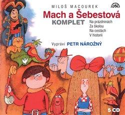 Mach a Šebestová, CD - komplet. Na prázdninách; Za školou; Na cestách; V historii, CD - Miloš Macour