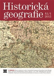 Historická geografie 41/1 2015