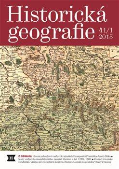 Obálka titulu Historická geografie 41/1 2015