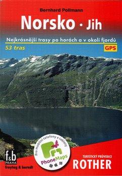 Obálka titulu Norsko - jih - Turistický průvodce Rother