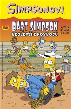 Obálka titulu Bart Simpson 7/2015: Nejlepší z kovbojů