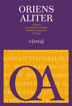 Obálka titulu Oriens Aliter 1/2014