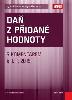 Obálka titulu Daň z přidané hodnoty s komentářem k 1. 1. 2015