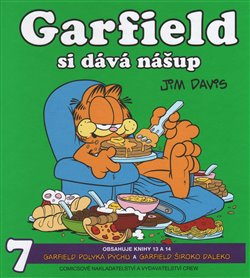 Obálka titulu Garfield si dává nášup