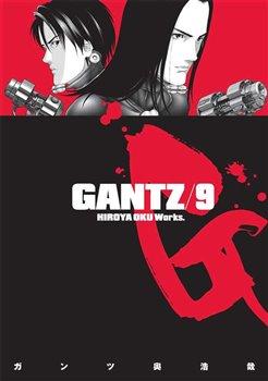 Obálka titulu Gantz 9