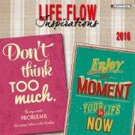 Nástěnný kalendář - Life Flow 2016