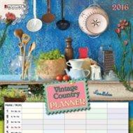 Nástěnný kalendář - Vintage Country Planner 2016