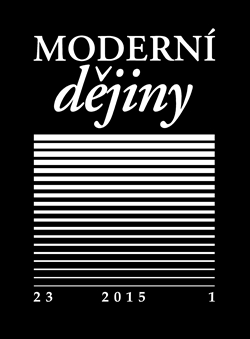 Obálka titulu Moderní dějiny 23/1 2015