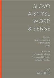 Slovo a smysl 23 / Word & Sense 23