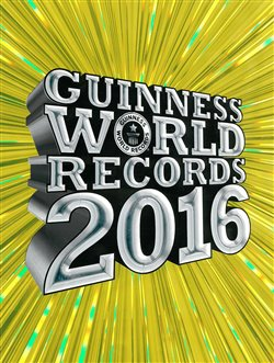 Obálka titulu Guinness World Records 2016