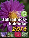 Obálka knihy Zahradnický kalendář 2016
