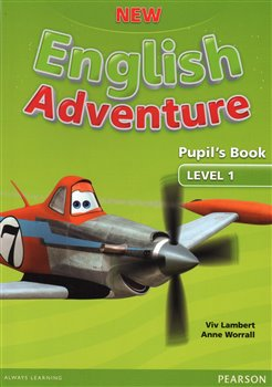Obálka titulu New English Adventure 1 Pupil's Book and DVD Pack