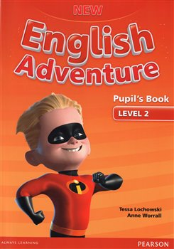 New English Adventure 2 Pupil's Book and DVD Pack