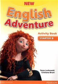 New English Adventure Starter B Activity Book and Songs CD Pack