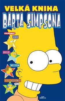 Obálka titulu Velká kniha Barta Simpsona
