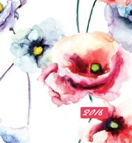 Mammadiář květiny akvarel 2016