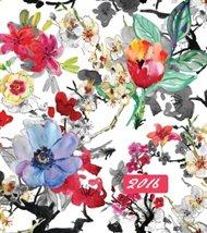 Mammadiář směs květin akvarel 2016