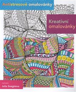 Obálka titulu Antistresové omalovánky - kreativní vnímání